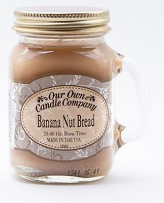 Banana Nut Bread Küçük Kavanoz Mum SIMM-BB