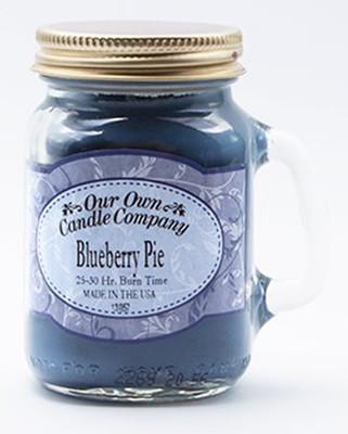 Blueberry Pie Küçük Kavanoz Mum SIMM-BLP