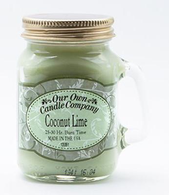 Coconut/Lime Küçük Kavanoz Mum SIMM-CL