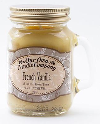 French Vanilla Küçük Kavanoz Mum SIMM-VN