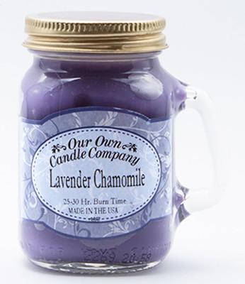 Lavender Chamomile Küçük Kavanoz Mum SIMM-LC