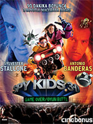 Spy Kids 3 Game Over - Oyun Bitti (SERI 3)
