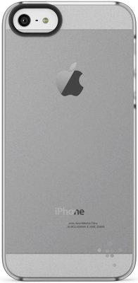 Belkin iPhone 5 Shield Sheer Matte Polikarbon Mat Saydam Seffaf Arka Kapak F8W162vfC01