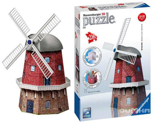 Ravensburger 3D Puzzle Degirmen 125630