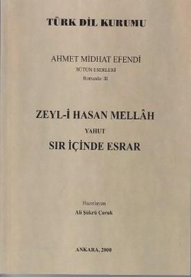Zeyl-i Hasan Mellah Yahut Sır İçinde Esrar