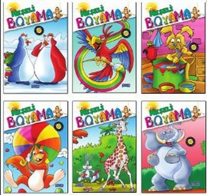 Neşeli Boyama (6 Kitap Takım)