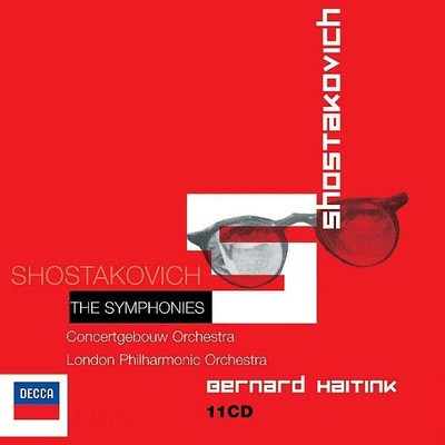 Shostakovich: The Symphonies [Councertgebouw Orchestra - London Philharmonic Orchestra]