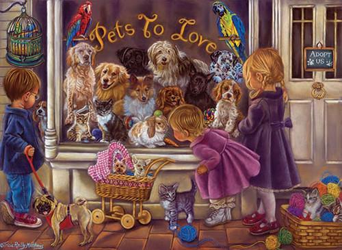 Anatolian Hayvan Sevgisi Pets To Love 1000 Parça 3186