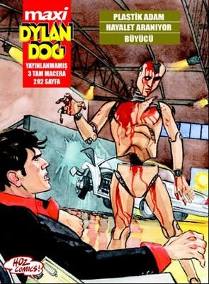 Maxi Dylan Dog 7: Plastik Adam Hayalet Aranıyor Büyücü