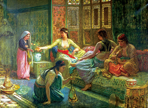 Anatolian Harem'de Yaşam / Interior of a Harem 3168