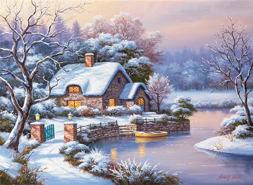 Anatolian Kışlıkta Akşamüstü / Winter Evening 3181