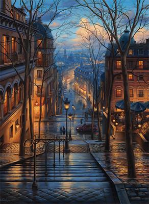 Anatolian 3192 Montmartre'de Bahar 1000 Parça Puzzle