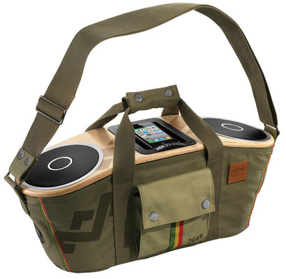 Marley Jammin' Collection Bag Of Rhythm Harvest Speaker Em-Ja000-Ha-Eu