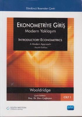 Ekonometriye Giriş 1 - Modern Yaklaşım
