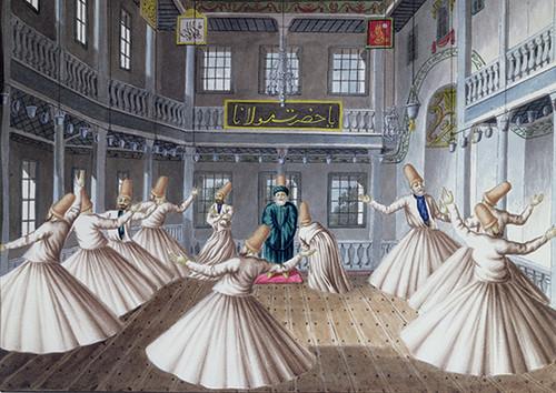 Anatolian Semazenler / Whirling Dervishes 4520