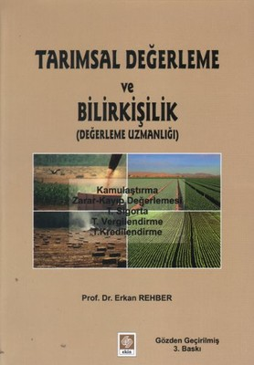 Tarımsal Değerleme ve Bilirkişilik