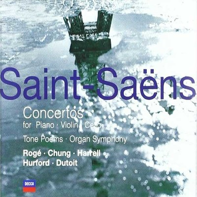 Saint-Saens: Concertos For Piano, Violin, Cello