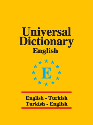Universal Sözlük İngilizce Türkçe - Türkçe İngilizce