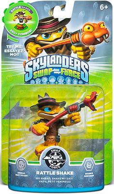 Skylanders Swap Rattle Shake Swap