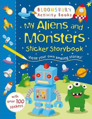 My Aliens and Monsters Sticker Storybook (Sticker Storybooks)