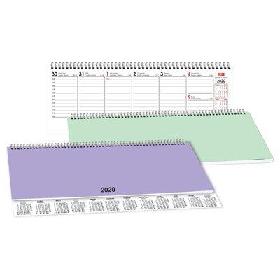 Keskin Color 2020 AJ-80 Haftalık PP Kapak Spiralli Masa Ajandası 830110-99
