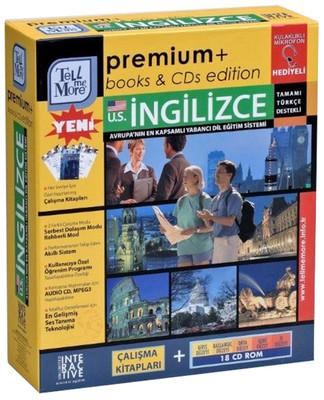 TMM Premium Books & CDs Amerikan İngilizcesi-Giriş+Başlangıç+Orta+İleri+İş Düzeyi (18 CD ROM) + Çalışma Kitapları