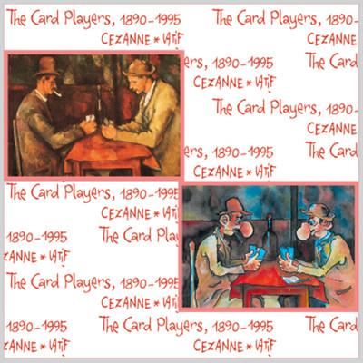 İki Kedi 2X500 'Lük Puzzle The Card Players
