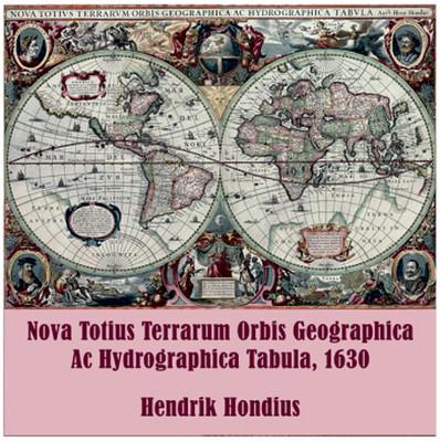 İki Kedi 1000 'Lik Puzzle  Nova Totius Terrarum Orbis Geographica Ac Hydrographica Tabula
