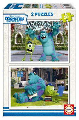 Educa Puzzle Monsters University 2x