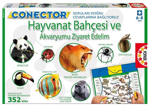 Educa Puzzle Connector  Hayvanat Bahçesi ve Akvaryumu Ziyaret 15397