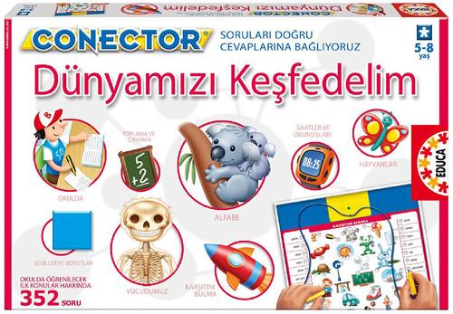 Educa Puzzle Connector Dünyamizi Kesfedelim 15395