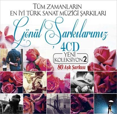 Gönül Sarkilarimiz Yeni Koleksiyon Vol.2 4 CD BOX SET