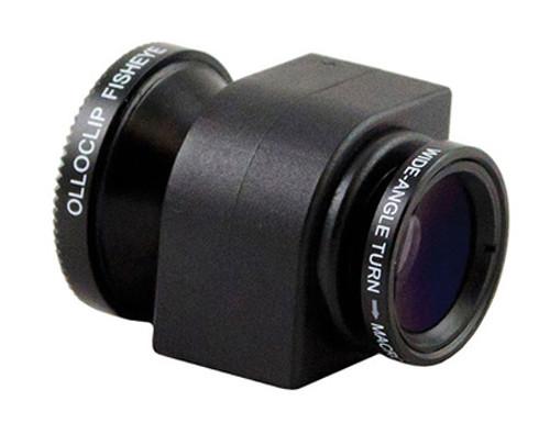 Olloclip iPhone5 için 3in1 Fotoğraf Lensi (Siyah)