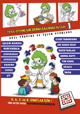 Zeka Oyunları Çalışma Kitabı 1