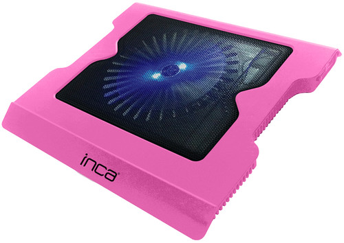 Inca LED Fanli Hight Cool Sessiz USB Notebook Sogutucu Pembe