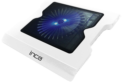 Inca LED Fanli Hight Cool Sessiz USB Notebook Sogutucu Beyaz