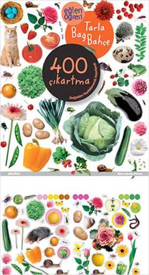 Eğlen Öğren Tarla Bağ Bahçe 400 Çıkartma