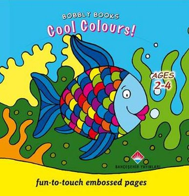 Bobbly Books - Cool Colours!