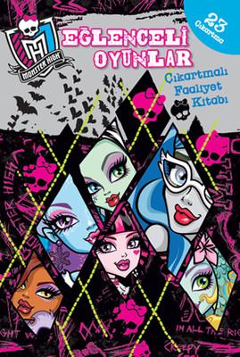 Monster High Eğlenceli Oyunlar Çıkartmalı Faaliyet Kitabı