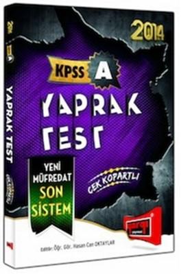 2014 KPSS A Yaprak Test