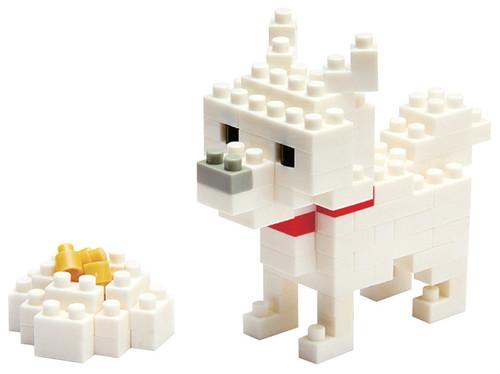 Nanoblock Hokkaido Dog Nbc_005