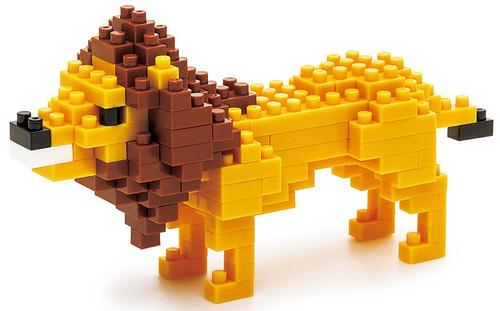 Nanoblock Lion Nbc_057