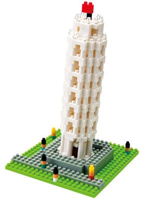 Nanoblock Torre Di Pisa Nbh_030