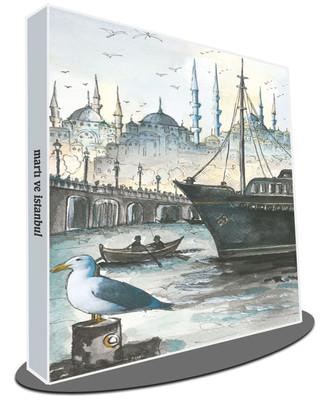 Galeri Alfa 3010003 Martı Ve İstanbul Defter