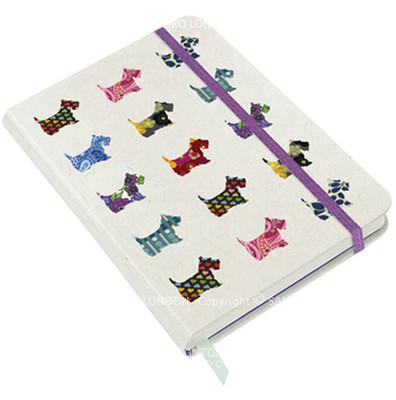 Santoro Gorjuss Eclectic Hardcover Notebook - Scottie Dogs  - Ec03 230
