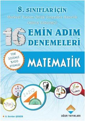 8. Sınıflar İçin 16 Emin Adım Denemeleri - Matematik