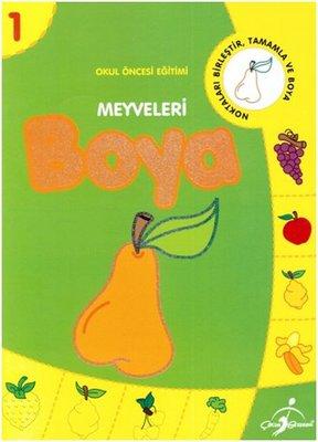 Meyveleri Boya - 1