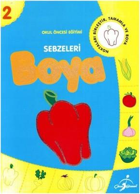 Sebzeleri Boya - 2