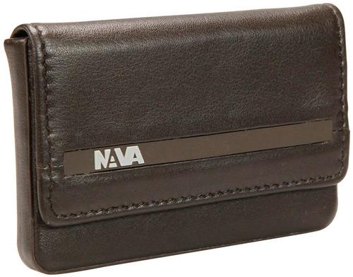 Nava Um440Bw Urban M. Rigid Card Case Brown