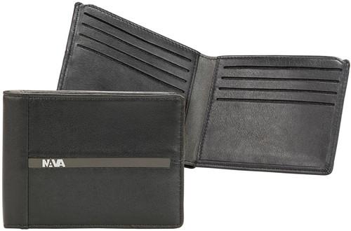 Nava Um409Ngr Urban M. Wallet Slim Black/Grey